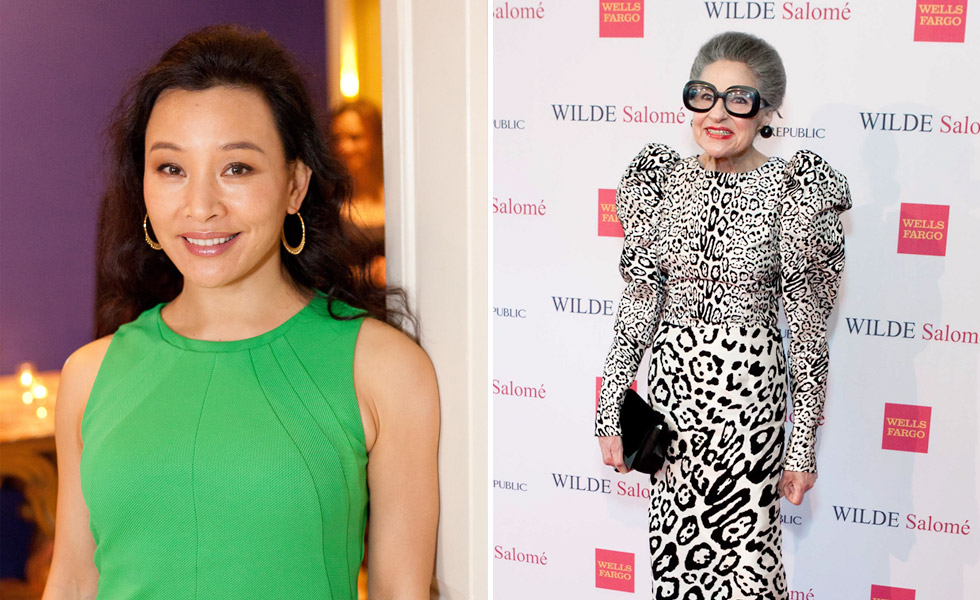 Joan Chen | Joy Venturi Bianchi at <em>Wilde Salomé</em> Screening