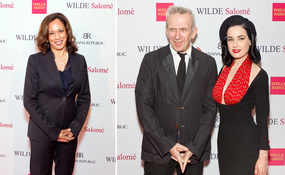 Kamala Harris | John Paul Gaultier and Dita Von Tesse at <em>Wilde Salomé</em> Screening