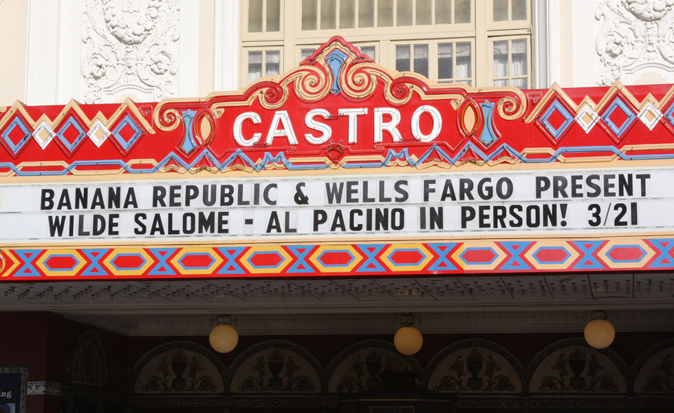 Marquee for <em>Wilde Salomé</em> Screening